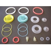 Silicone Rubber Screw